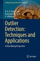 Outlier Detection  Techniques and Applications PDF