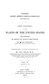 The Genera of the Plants of the United States: Plant 101 - 186, Volume 2