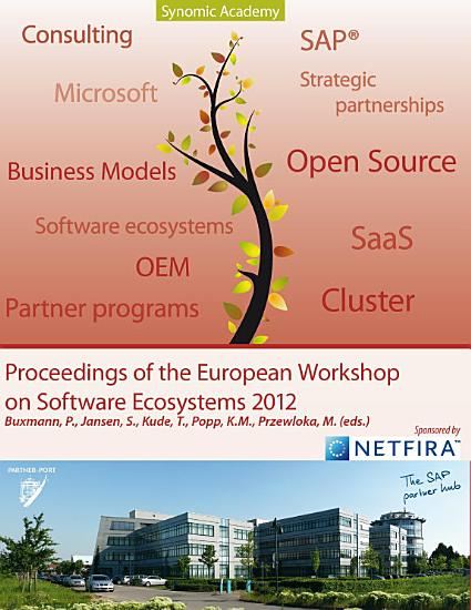 Proceedings of European Workshop on Software Ecosystems PDF