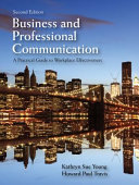 Business and Professional Communucation