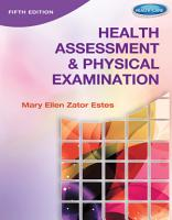 Health Assessment and Physical Examination PDF
