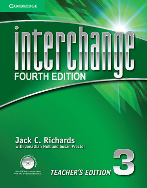 Interchange Level 3 Teacher s Edition with Assessment Audio CD CD ROM PDF