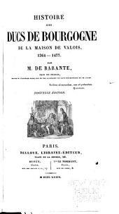 Histoire des ducs de Bourgogne de la maison de Valois, 1364-1477: Volume12