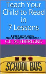 Teach Your Child to Read in 7 Lessons