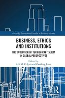 Business  Ethics and Institutions PDF