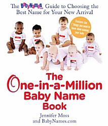 The One in a Million Baby Name Book PDF