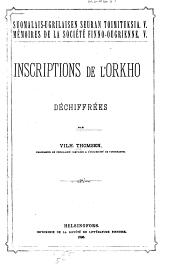 Inscriptions de l'Orkhon déchiffrées
