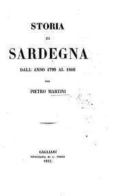 Storia di Sardegna dall'anno 1799 al 1816