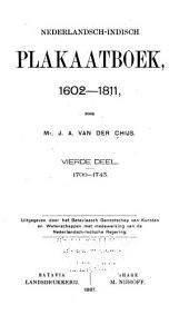 Nederlandsch-Indisch plakaatboek, 1602-1811: Deel 4
