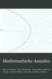 Mathematische Annalen: Volume 47