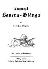 Salzburga Bauern-Gsanga