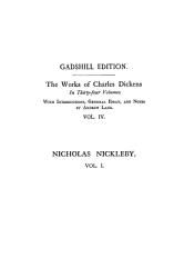 Life And Adventures Of Nicholas Nickleby Vol I Paperbound Book PDF