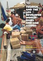 Tourism and the Less Developed World PDF