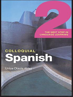 Colloquial Spanish 2  eBook And MP3 Pack  PDF