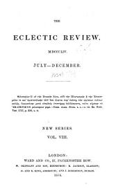 The Eclectic Review: Volume 8; Volume 100