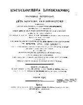 Encyclopaedia Londinensis: Volume 24