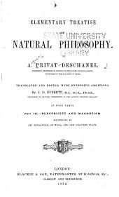 Elementary Treatise on Natural Philosophy: Electricity and magnetism.1874