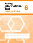 Reading Informational Text  Grade 6 Individual Student Practice Book