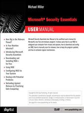 Microsoft Security Essentials User Manual (Digital Short Cut)