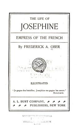 Josephine  Empress of the French PDF