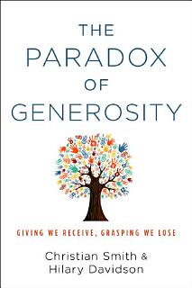 The Paradox of Generosity Book