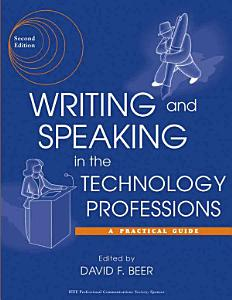 Writing and Speaking in the Technology Professions Book