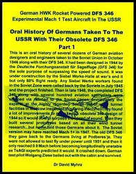 Oral History of Germans Taken To the USSR with Their Obsolete DFS 346 Part 1 PDF