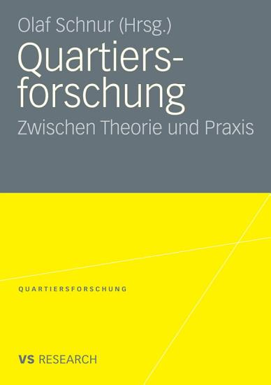 Quartiersforschung PDF