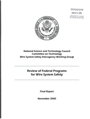 Review of Federal Programs for Wire System Safety