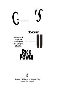 God s Dream for You PDF