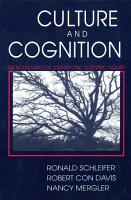 Culture and Cognition PDF