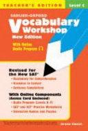 Vocabulary Workshop Level C Teacher s Edition  New Edition  PDF