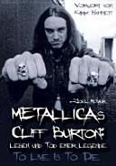 Metallicas Cliff Burton PDF