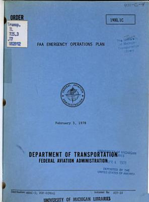 FAA Emergency Operations Plan PDF