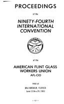 Proceedings of the ... International Convention