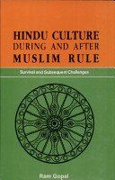 Hindu Culture During and After Muslim Rule PDF
