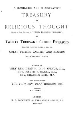 A Homiletic and Illustrative Treasury of Religious Thought PDF