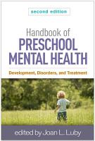 Handbook of Preschool Mental Health  Second Edition PDF