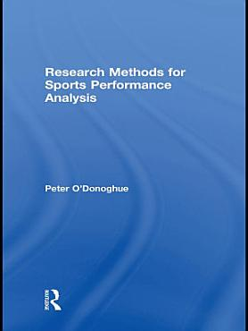 Research Methods for Sports Performance Analysis PDF