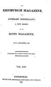 The Edinburgh Magazine and Literary Miscellany: Volume 92