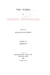 The Works of William Shakespeare: Volume 40