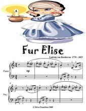 Fur Elise - Easiest Piano Sheet Music Junior Edition