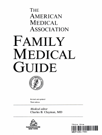 American Medical Association Family Medical Guide PDF