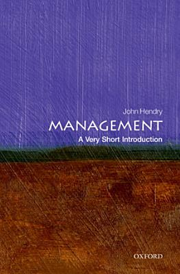 Management  A Very Short Introduction PDF