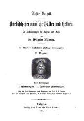 Nordisch-germanische götter und helden: in schilderungen für jugend und volk