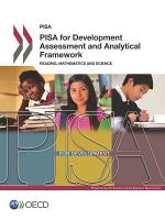 PISA for Development Assessment and Analytical Framework Reading  Mathematics and Science PDF