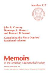 Completing the Riesz-Dunford Functional Calculus: Issues 415-417