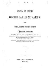 Genera et species orchidearum novarum, quas collegit