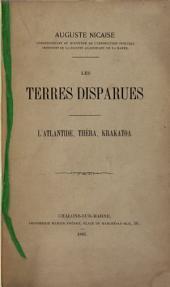 Les terres disparues: L'Atlantide, Théra, Krakatoa