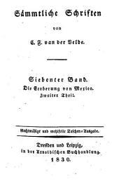 Sämmtliche Schriften von van der Velde, Karl Franz: Band 7